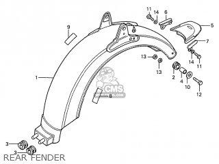 Honda S110 Benly General Export Type 5 parts list