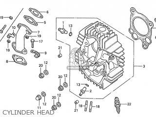 Honda S110 Benly General Export Type 7 parts list