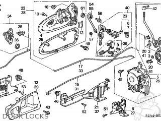 Honda S2000 2002 (2) 2DR S2000 (KA) parts lists and schematics