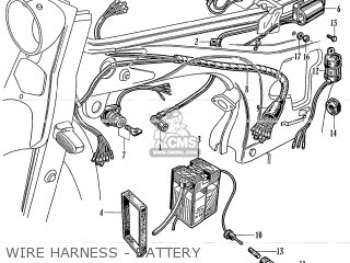 Honda S50 Japanese Domestic parts list partsmanual partsfiche
