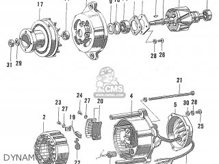 Honda S600 Coupe General Export As285c parts list