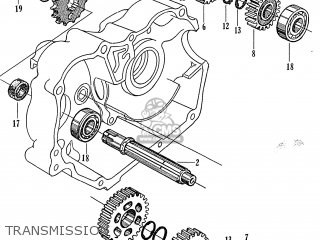 Honda S65 General Export parts list partsmanual partsfiche