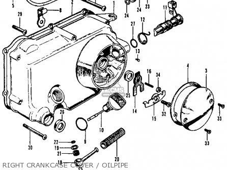 Honda S65 SPORT 1965 USA parts lists and schematics