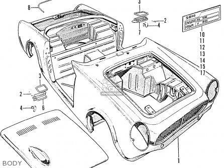 Honda S800 Convertible (ke Kf Kg Kt Kb Ku Kp Kd Ka Kc Ko