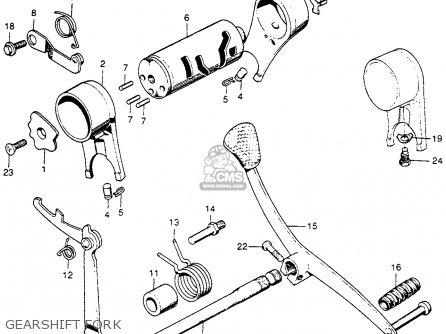 Honda S90 Super 1964 Usa parts list partsmanual partsfiche