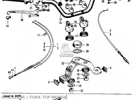 Honda S90 SUPER 1964 USA parts lists and schematics