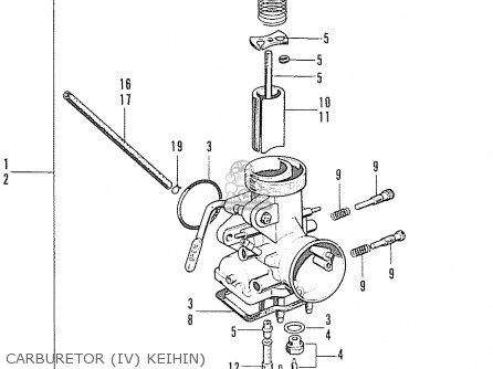 Honda S90zk1 Super Sport General Export parts list