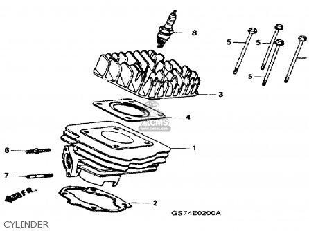 Honda Sa50 Elite 50sr 1992 (n) Usa parts list partsmanual