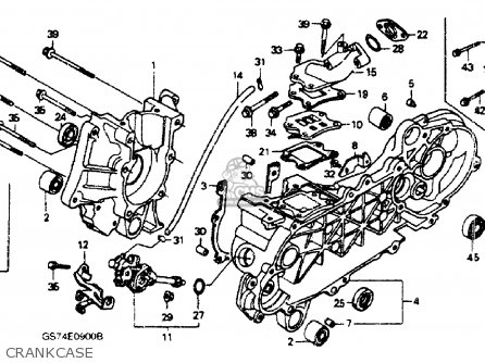 Honda Sa50 Elite 50sr 1994 (r) Usa parts list partsmanual