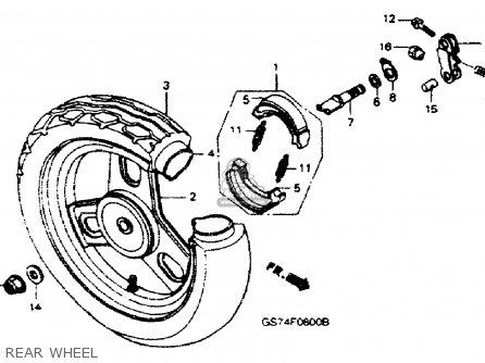 Honda Sa50 Elite Lx 1988 (j) Usa parts list partsmanual