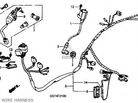 Honda Sa50 Elite Lx 1990 (l) Usa parts list partsmanual