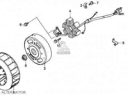 Honda SA50 ELITE S 1996 (T) USA parts lists and schematics