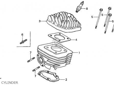 Honda Sa50 Elite S 1996 (t) Usa parts list partsmanual