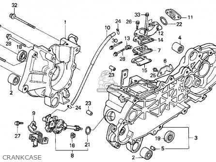 Honda SA50 ELITE S 1998 (W) USA parts lists and schematics