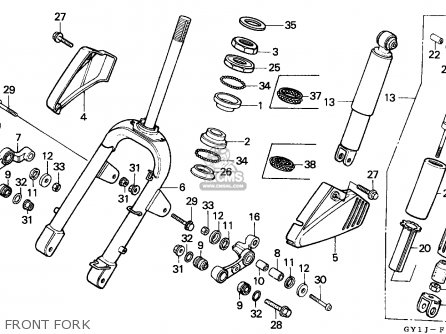 Honda SA50 VISION 1988 (J) NETHERLANDS parts lists and