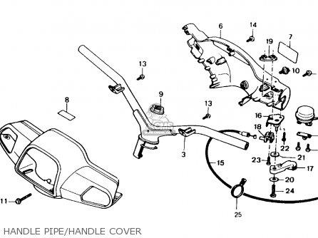 Honda Sa50 Vision 1988 (j) Netherlands parts list