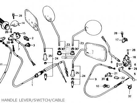 Honda Sa50 Vision 1988 Netherlands parts list partsmanual
