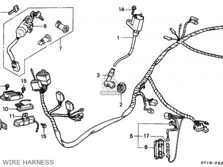 Honda SA50 VISION 1991 (M) FRANCE parts lists and schematics