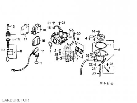 Honda SA50 VISION 1993 (P) ENGLAND parts lists and schematics