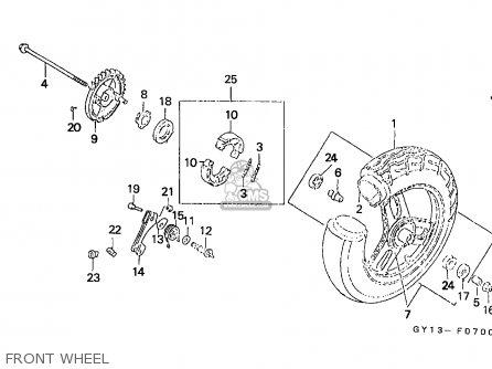 Honda SA50 VISION 1993 (P) ENGLAND parts lists and schematics