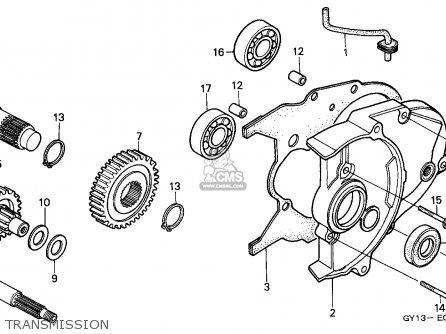 Honda SA50 VISION 1994 (R) ENGLAND parts lists and schematics