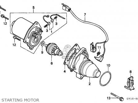 Honda Sa50 Vision 1994 (r) Germany parts list partsmanual