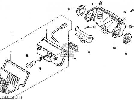 Honda SA50P 50 S 1996 (T) USA parts lists and schematics