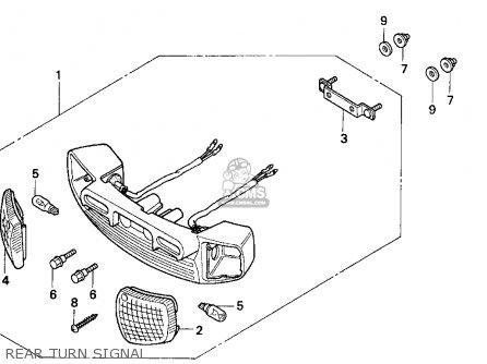 Honda Sa50p 50 S 1998 (w) Usa parts list partsmanual