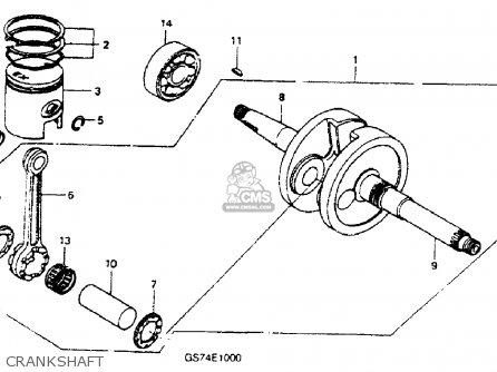 Honda Sa50p Elite 50s 1994 (r) Usa parts list partsmanual