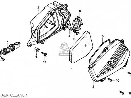 Honda Sb50 Es Elite E 1988 (j) Usa parts list partsmanual