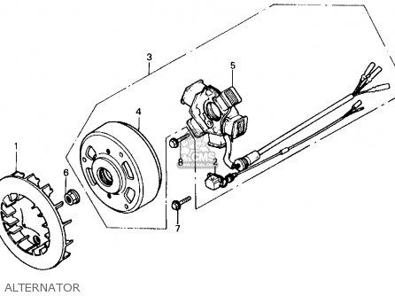 Honda Sb50p E 1988 (j) Usa parts list partsmanual partsfiche