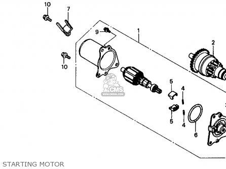 Honda SB50P E 1988 (J) USA parts lists and schematics