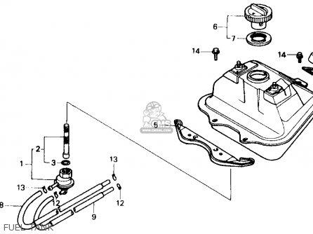 Honda Sb50p E 1989 (k) Usa parts list partsmanual partsfiche