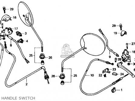 Honda SB50P E 1989 (K) USA parts lists and schematics
