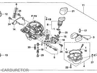 Honda SCV100 LEAD 2003 (3) ENGLAND parts lists and schematics