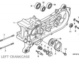 Honda SCV100F 2009 (9) AUSTRALIA parts lists and schematics