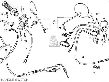 Honda SE50 50 S 1987 (H) USA parts lists and schematics