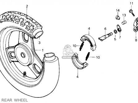 Honda Se50p 50 Usa parts list partsmanual partsfiche
