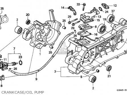 Honda Sfx50 1995 Spain parts list partsmanual partsfiche