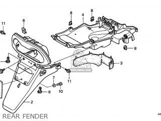Honda SFX50 1997 (V) BELGIUM parts lists and schematics