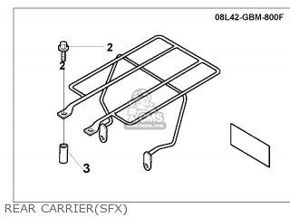 Honda SFX50 1998 (W) SPAIN parts lists and schematics