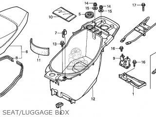 Honda SFX50MM 1998 (W) FRANCE CMF parts lists and schematics