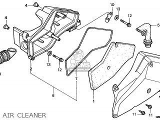 Honda SFX50SMM 1999 (X) BELGIUM parts lists and schematics