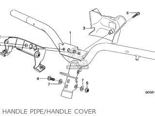 Honda SGX50 SKY 1997 (V) ENGLAND / KPH parts lists and