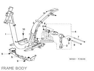 Honda SGX50 SKY 1997 (V) NETHERLANDS / MKH parts lists and
