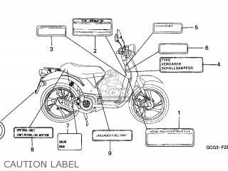 Honda Sgx50 Sky 1998 (w) Spain / Mkh parts list