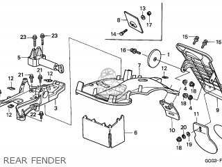 Honda Sgx50 Sky 1998 (w) Spain / Mkh parts list