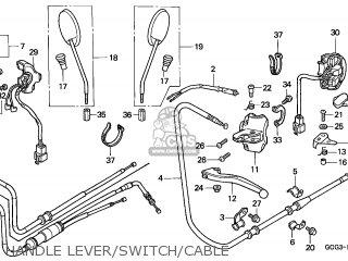 Honda Sgx50 Sky 1999 (x) Netherlands parts list