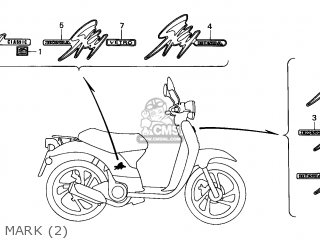 Honda SGX50 SKY 1999 (X) NETHERLANDS parts lists and