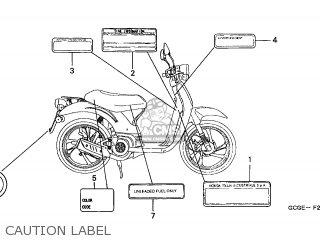 Honda SGX50 SKY 2001 (1) BELGIUM parts lists and schematics
